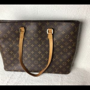 Authentic vintage Louis vuitton Latge bag monogram